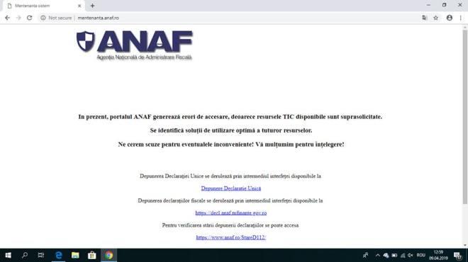 anaf site